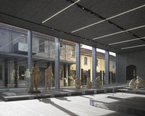 """Serial Classic 1 Veduta della mostra """"Serial Classic"""", co-curata da Salvatore Settis e Anna Anguissola Fondazione Prada Milano 2015 Foto Bas Princen Courtesy Fondazione Prada"""