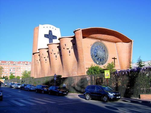 Chiesa di San Juan de Avila a Alcalà de Henares (Spagna)
