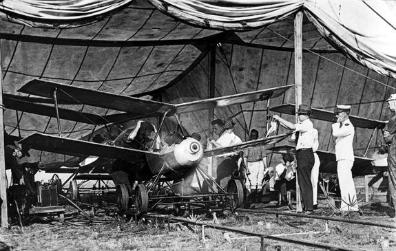 Kettering Bug, Prima guerra mondiale, primo drone statunitense (Dal sito Smithsonian)