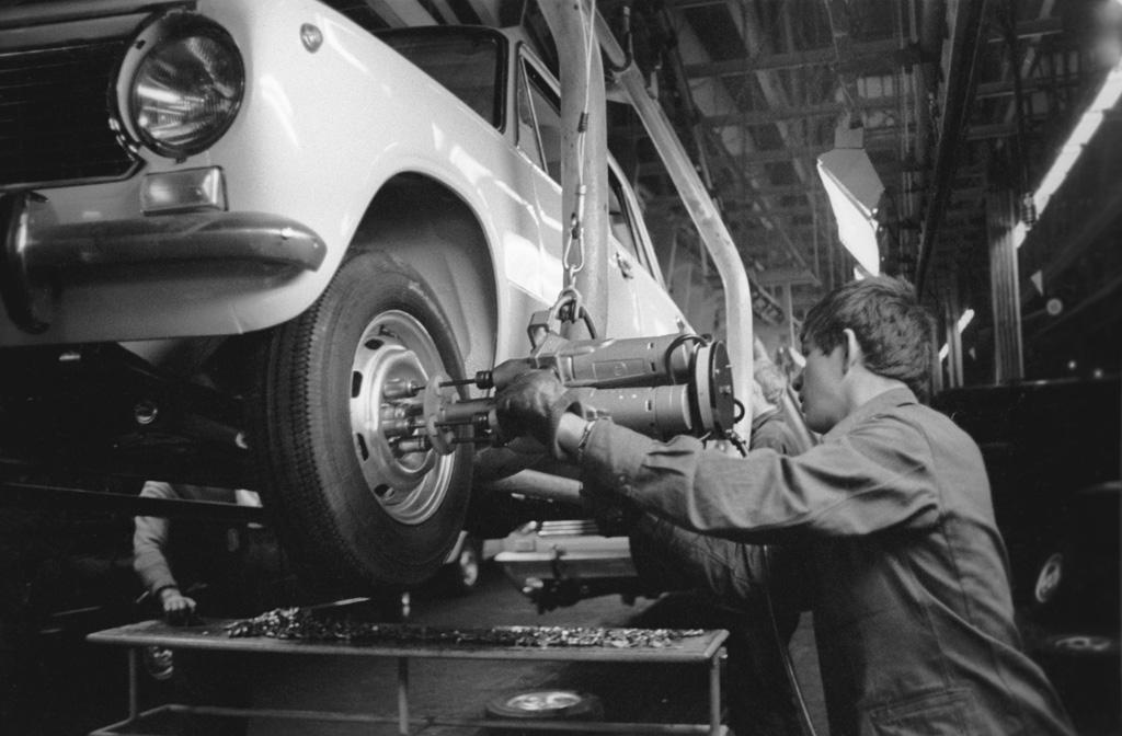 AvtoVAZ-Linea di produzione, 1967