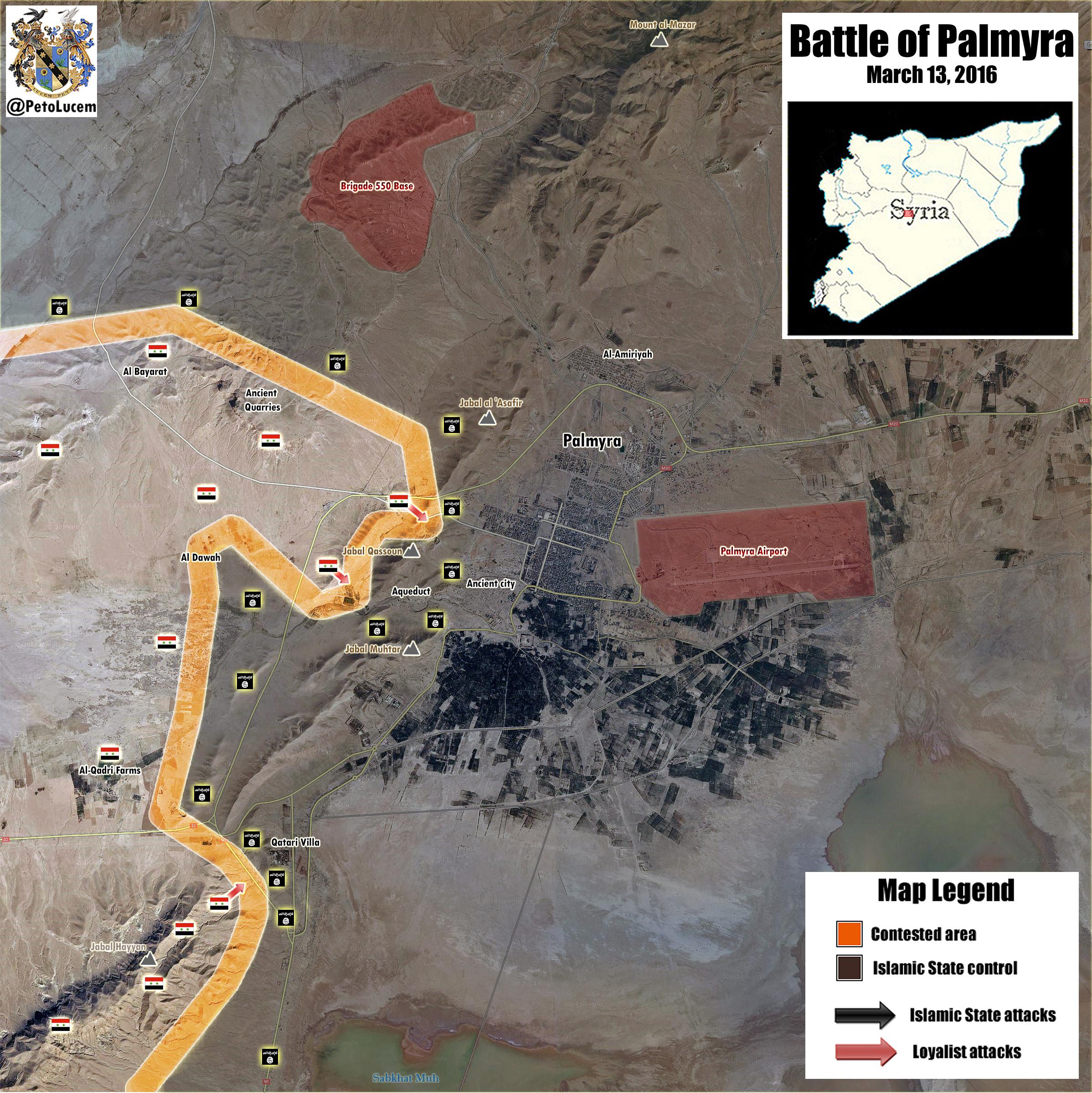 Palmyra-map