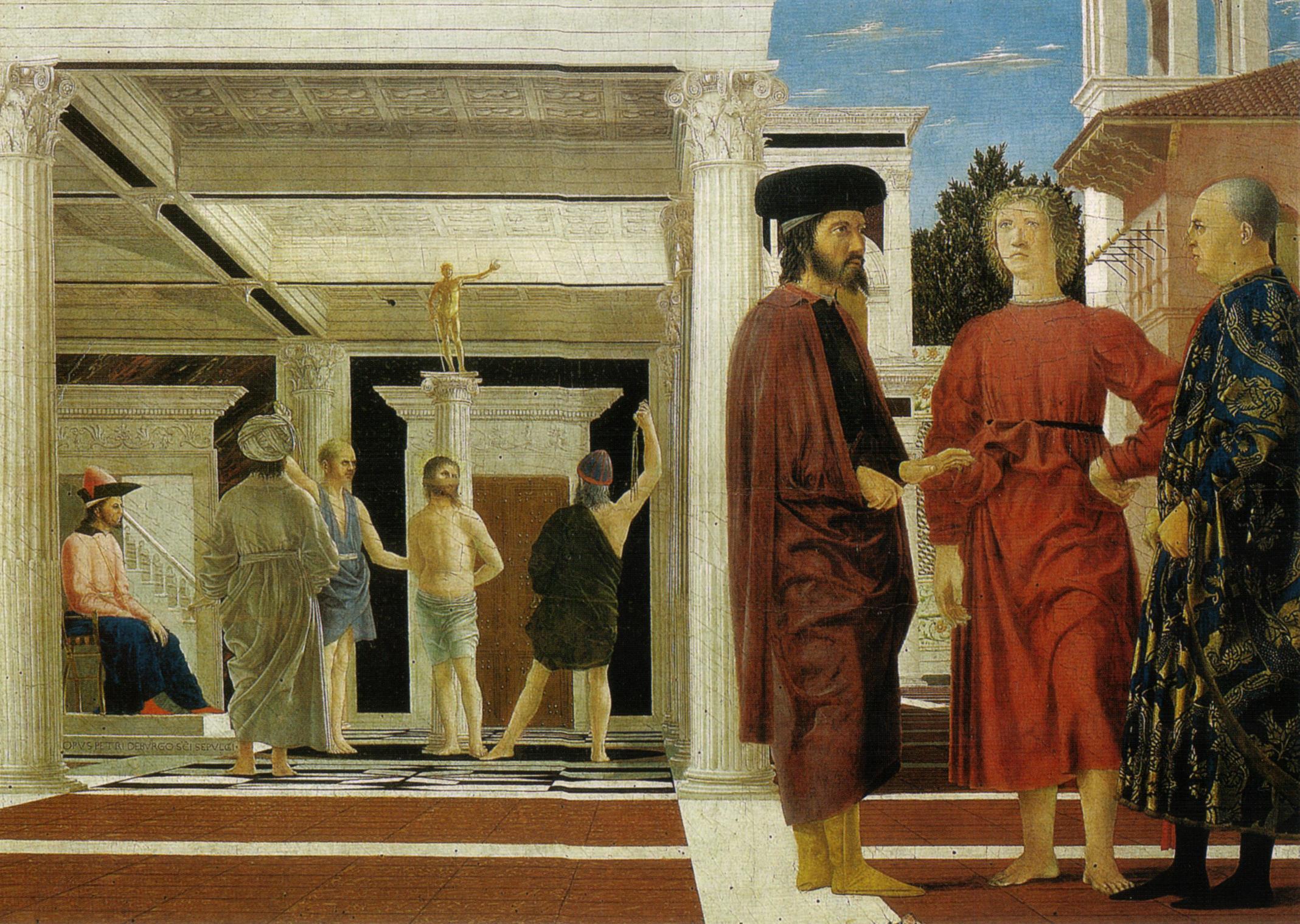 Flagellazione - Piero della Francesca
