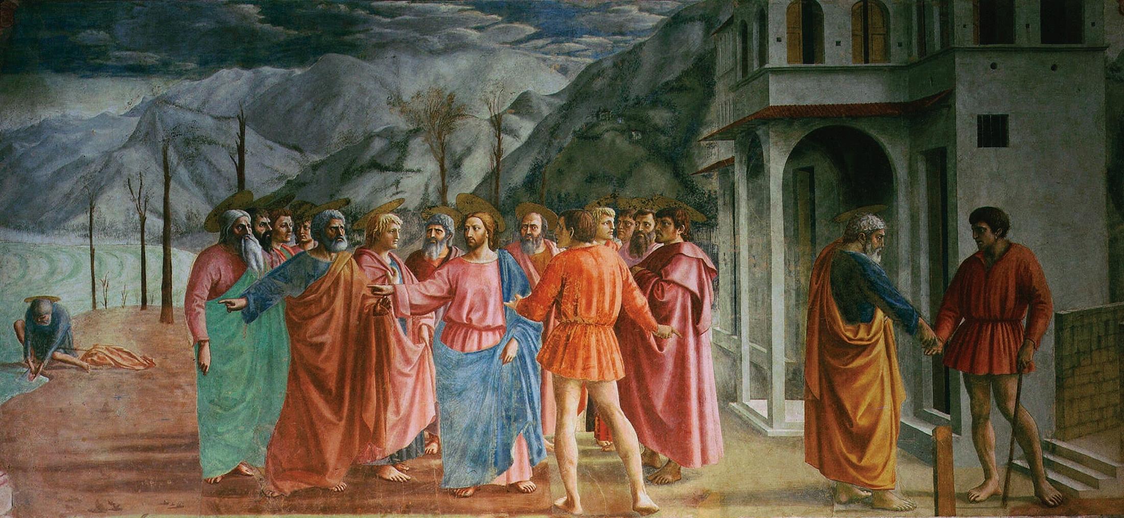 Il tributo - Masaccio