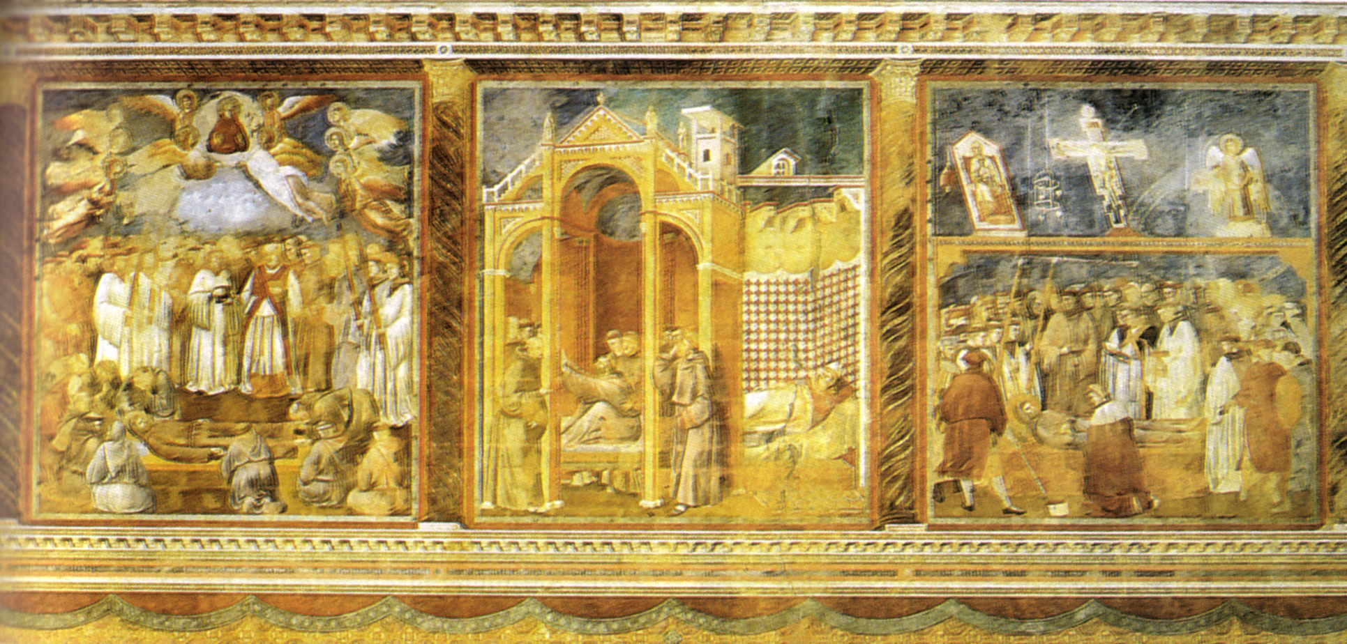 Interno della Basilica superiore di San Francesco D'Assisi - Giotto 2