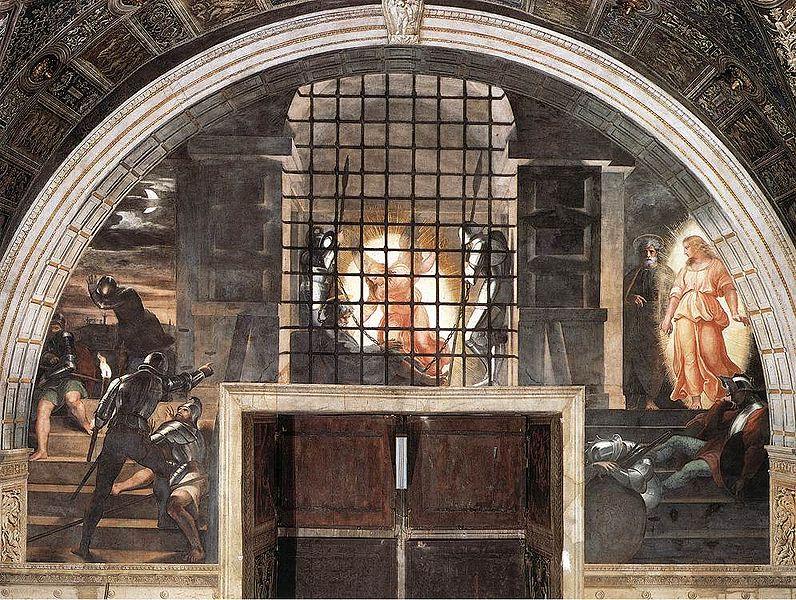 Liberazione di San Pietro - Raffaello