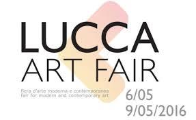 Lucca art fair poster