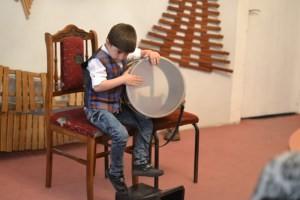 Volodya Sargsyan and his drum