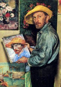 B1-Fotogramma-del-film-su-Van-Gogh-del-1956-con-l-attore-e-un-Autoritratto-del-1887-1.jpg