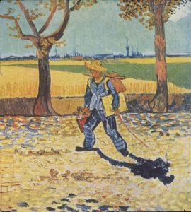 B139-43- Vincent Van-Gogh-Autoritratto-Sulla-Strada-di-Tarasconar-Agosto-1888