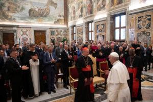Audiencia del Papa a los participantes en el Seminario Foto: Servizio Fotografico - Vatican Media