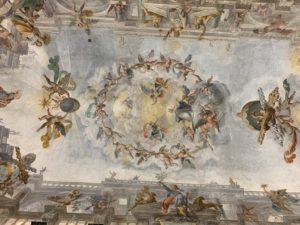Bóveda de la Sala Clementina Foto: Albert Cortina