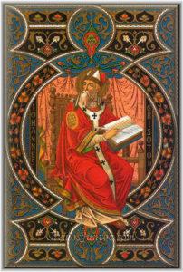 San Ireneo de Lyon. Obispo y escritor. Padre de la Iglesia