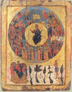 Icono- Segunda venida de Jesucristo