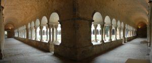 Claustro del Monasterio de Sant Cugat. Angulo Sureste