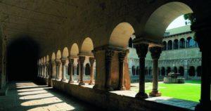 Claustro del Monasterio de Sant Cugat del Vallès